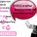 SEDECO : l'entreprise offshore a présenté ses services à un salon de l'emploi