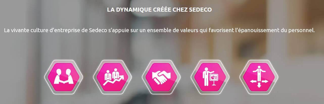 SEDECO s'appuie sur des valeurs sûres pour motiver les troupes !