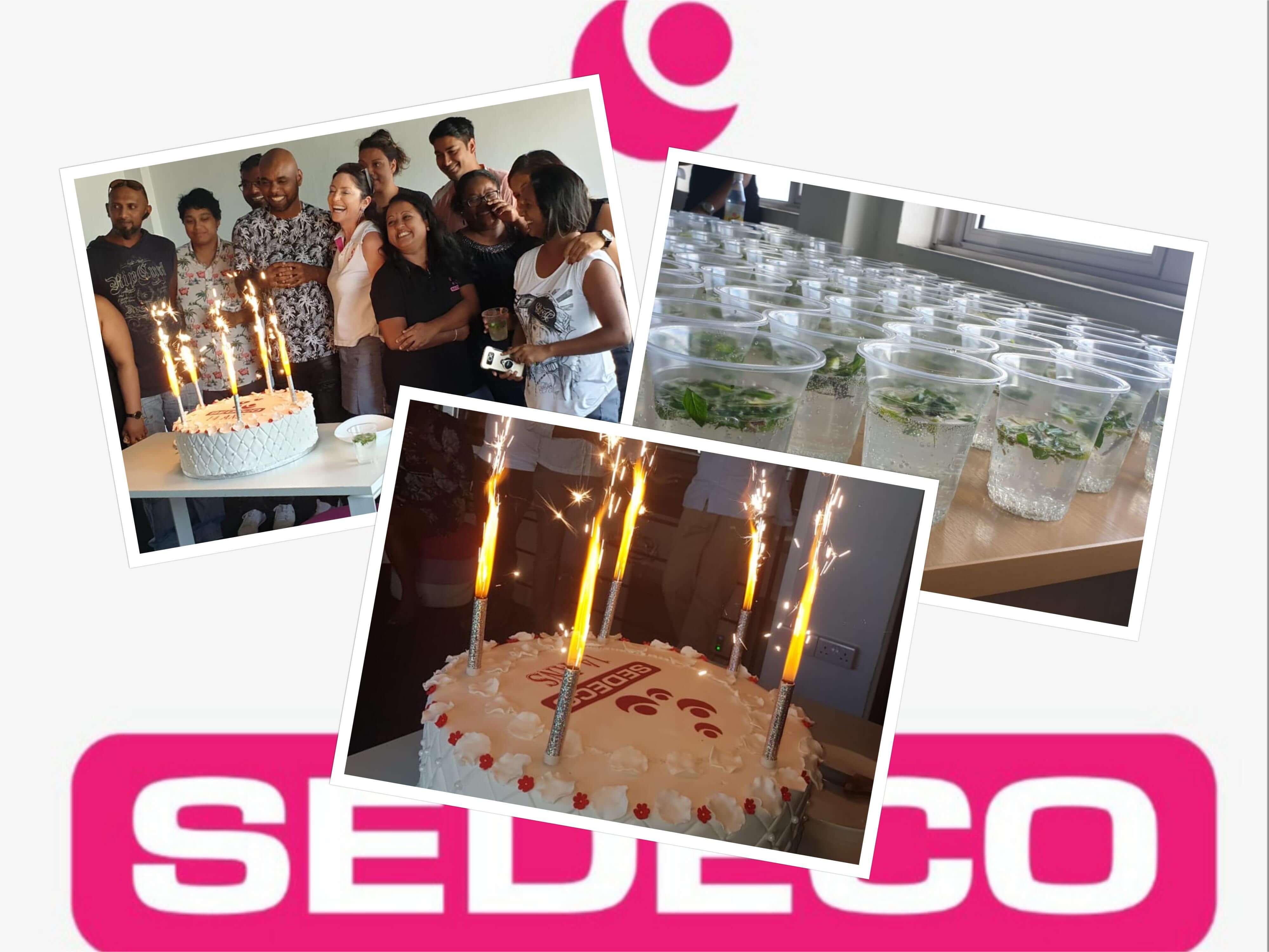 Quelle joie de célébrer les 14 ans de SEDECO ! :)